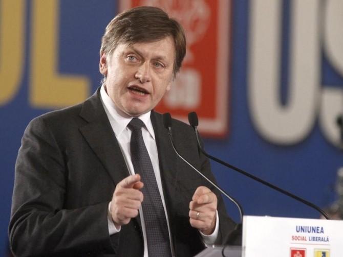 Crin Antonescu s-a intalnit cu Basescu