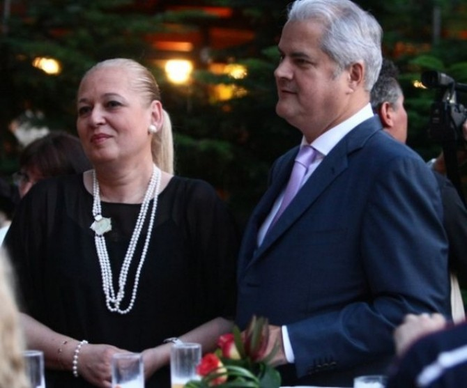 Dana și Adrian Năstase