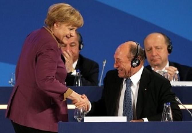 Merkel-Basescu dece