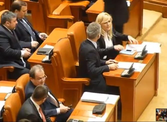 Elena Udrea, Vasile Blaga, PMP, alianță de dreapta