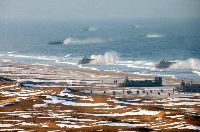 Coreea de Nord- aeroglisoare