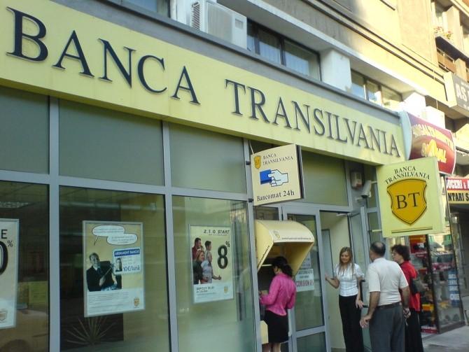 Banca.Transilvania.Iasi-Romania