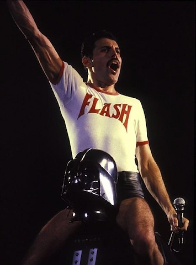 F. Mercury, D. Vader
