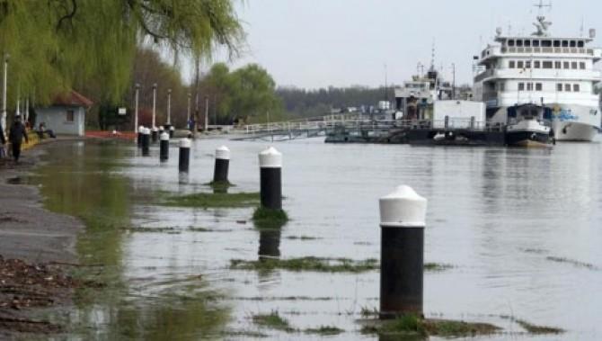 Brăila: Un tânăr a dispărut în apele Dunării