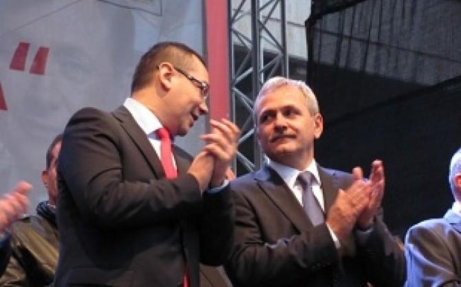 Victor Ponta - Liviu Dragnea