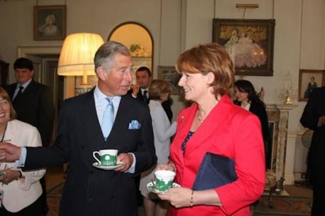 Principesa Margareta si Principele Charles