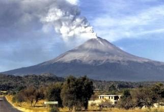 Zboruri anulate în Mexico din cauza cenuşii vulcanice