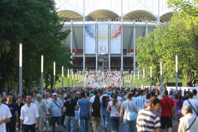 Arena Națională suporteri