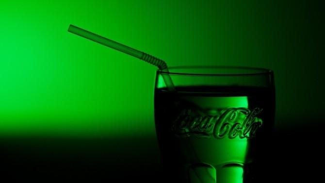Coca cola verde