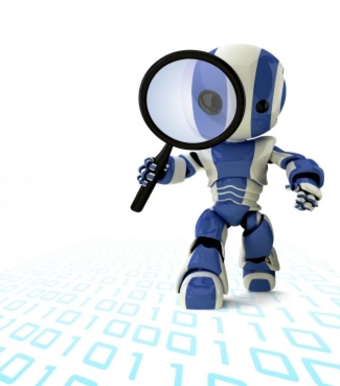 Robot detectiv