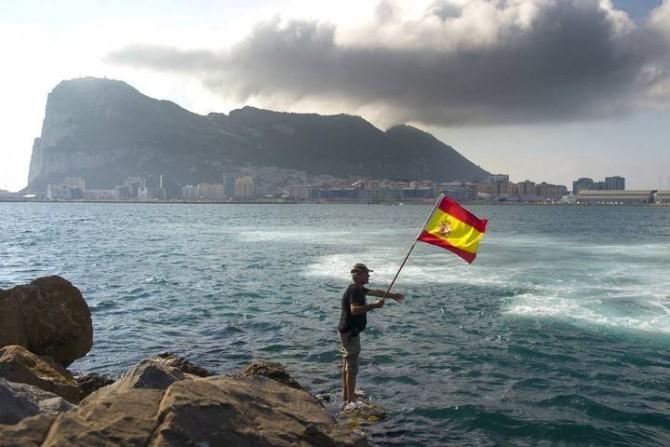 SPAIN-BRITAIN-GIBRALTAR-DIPLOMACY-PROTEST-FISHING