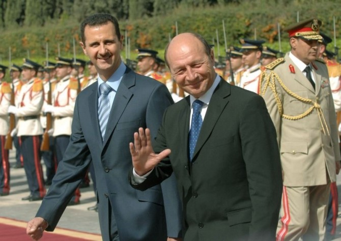 Băsescu Assad
