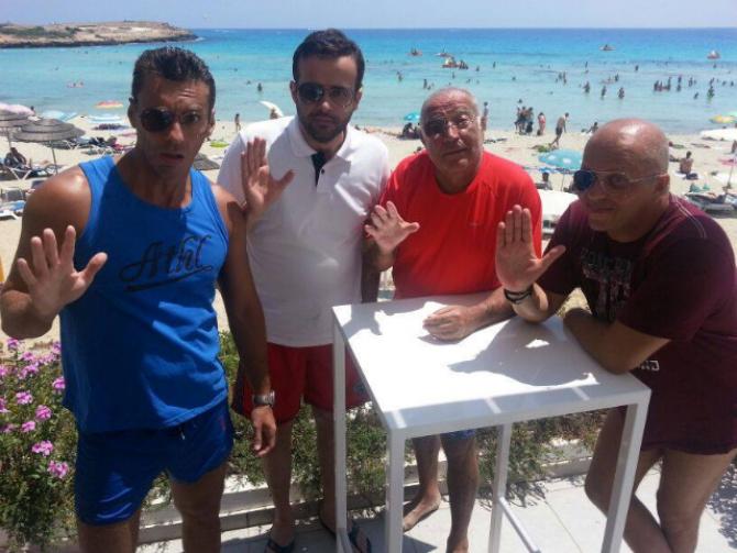 Badea, Gâdea, Voiculescu și Ursu - poză de colecție de la Miami   DCNews