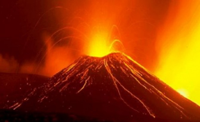 Erupție Vulcan