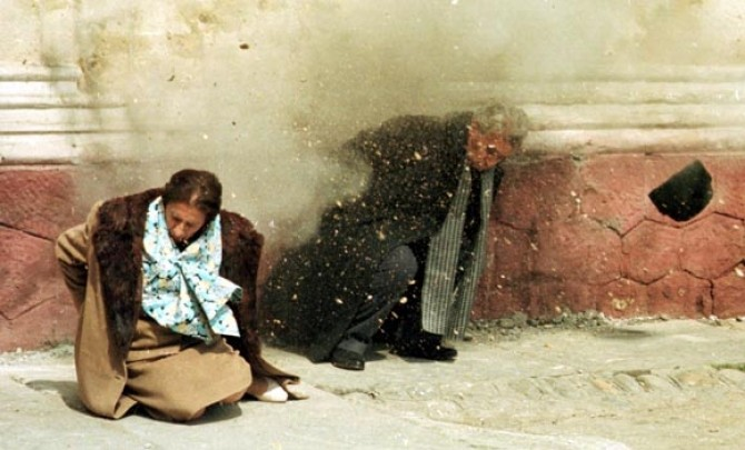 Nicolae si Elena Ceausescu, executie