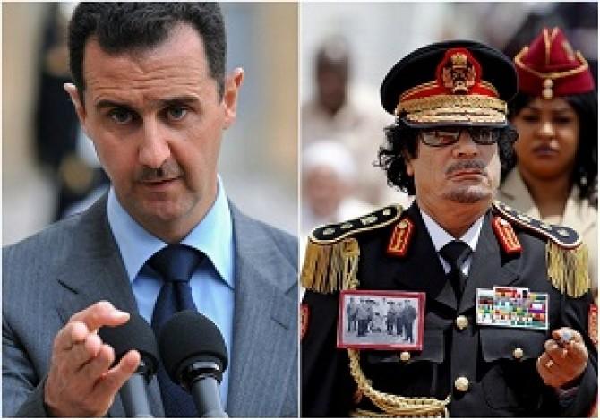 assad gaddafi