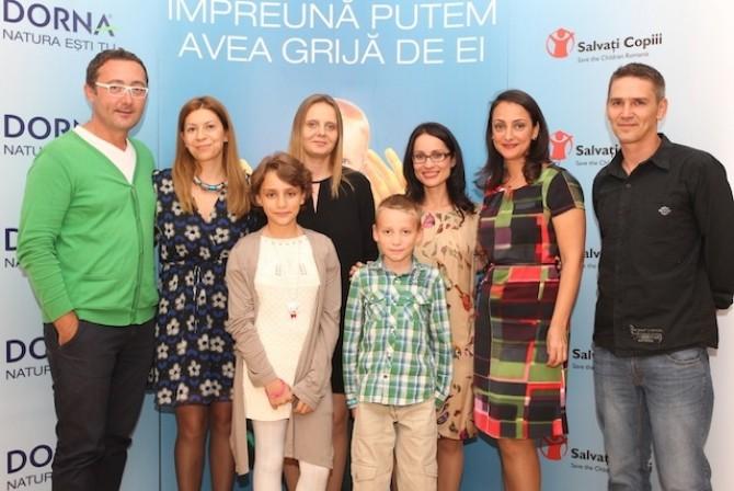 Familia Zaharia, Tudor Giurgiu si echipa Coca-Cola Romania