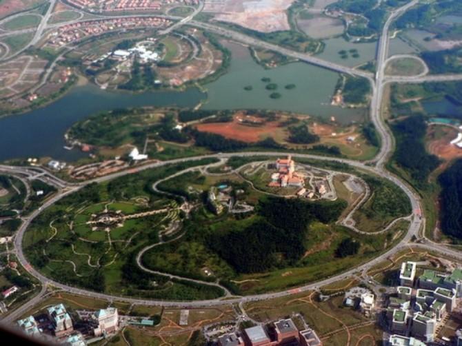sensul giratoriu cel mai mare, Putrajaya, Malaezia