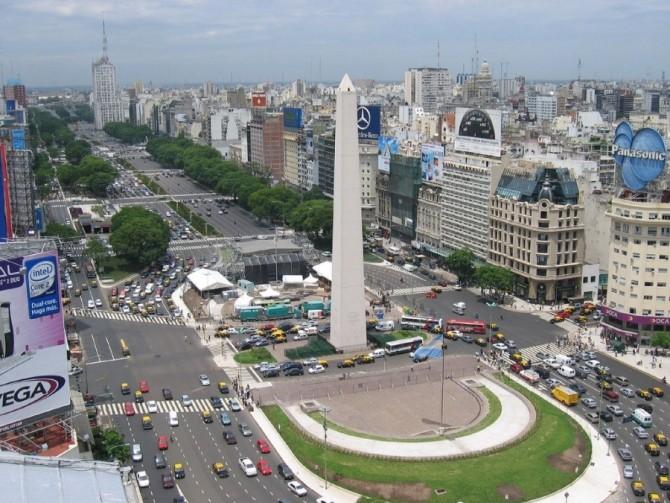 strada cea mai lata, 9 De Julio, Buenos Aires, Argentina