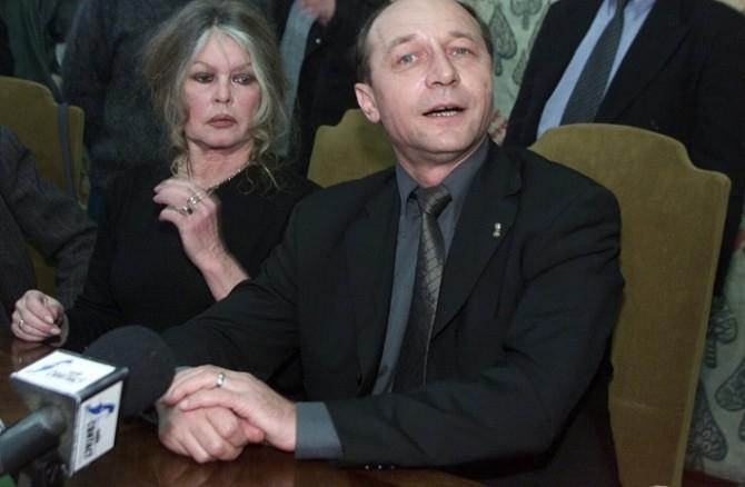 Brigitte Bardot Traian Băsescu