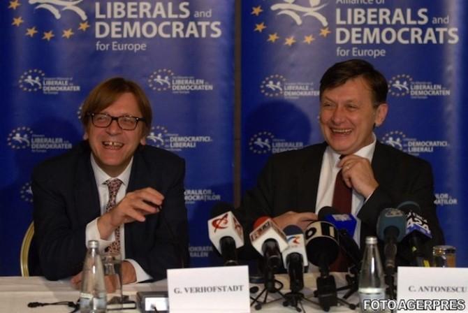 antonescu Guy Verhofstadt