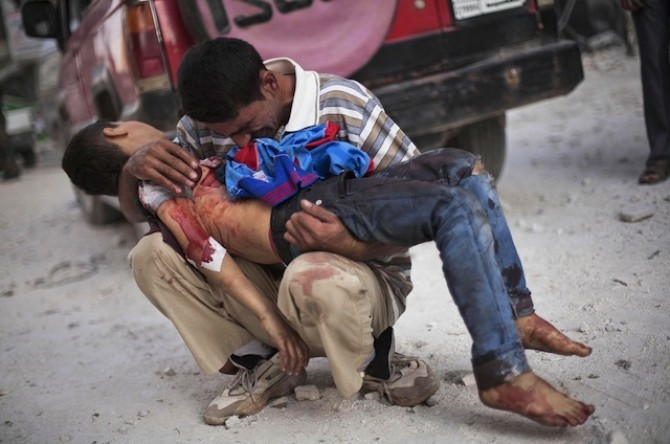 bombardament aleppo