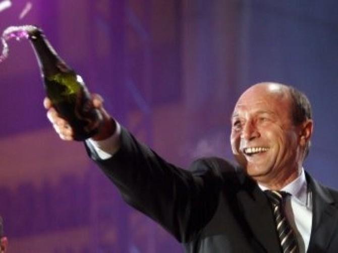 Traian Băsescu revelion