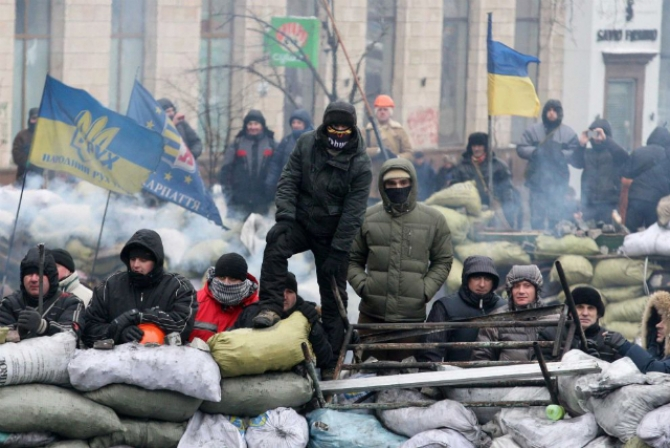 Ucraina proteste