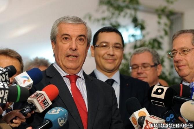 Calin Popescu Tariceanu - Victor Ponta