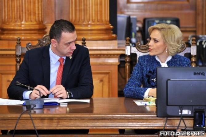 Mihai Fifor și Gabriela Firea