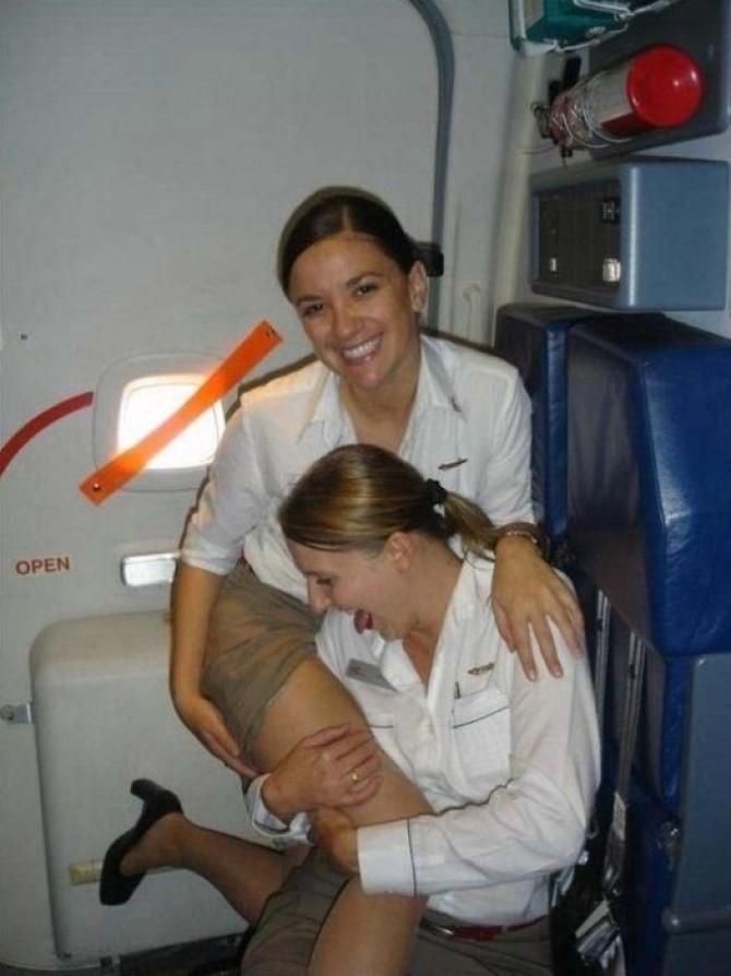 Фото в чулках стюардессы 58798 фотография