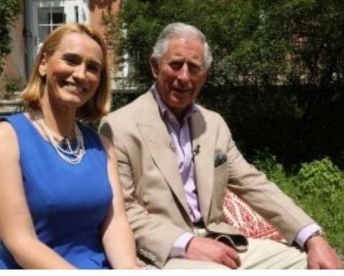 Andreea Esca, interviu cu Prințul Charles