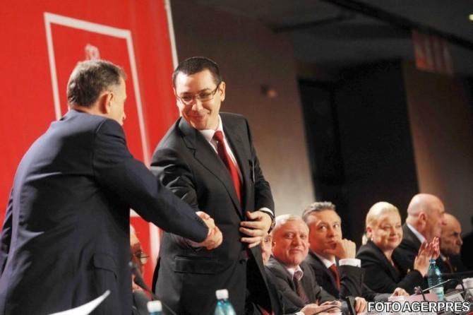 Victor Ponta a fost atacat dur de Vasile Blaga