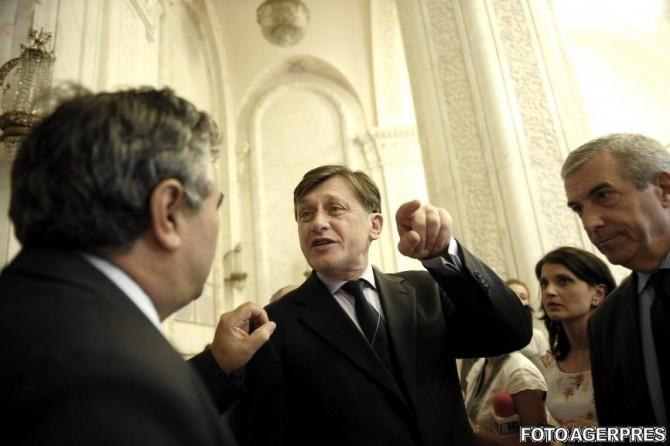 Crin Antonescu, Călin Popescu Tăriceanu
