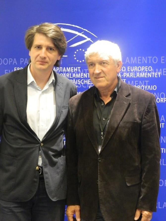 Mircea Diaconu, președintele ntergrupului cultural pentru Muzică Clasică și Poezie din Parlamentul European