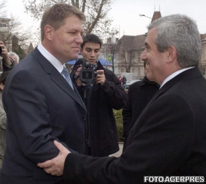 Calin Popescu Tariceanu, Klaus Iohannis
