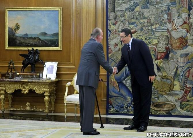 Regele Spaniei, Juan Carlos, a abdicat