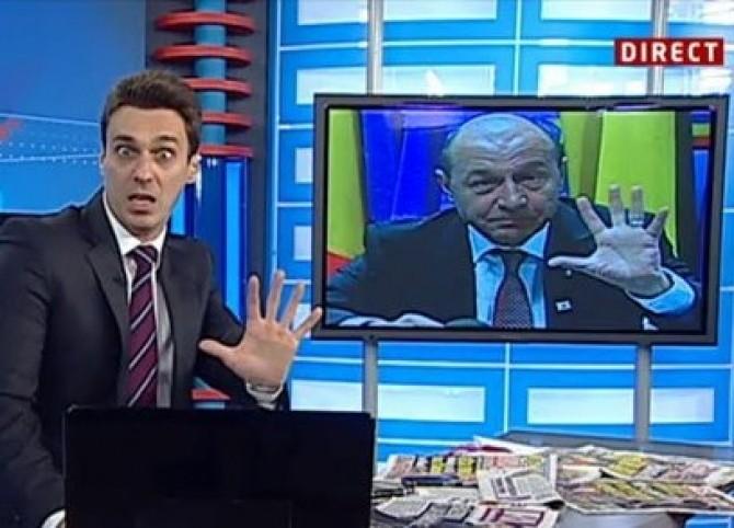 Mircea Badea, Traian Basescu