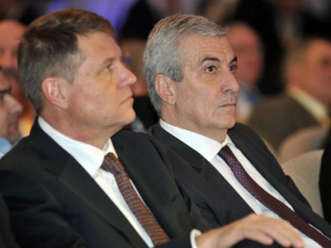 Klaus Iohannis, Calin Popescu Tăriceanu