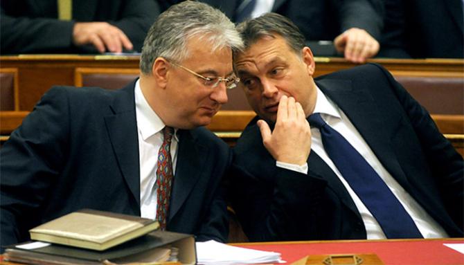 Premierul Viktor Orban și vicepremierul Zsolt Nemjen