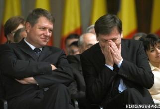 Crin Antonescu și Klaus Iohannis