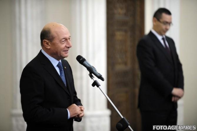 Victor Ponta, Traian Băsescu