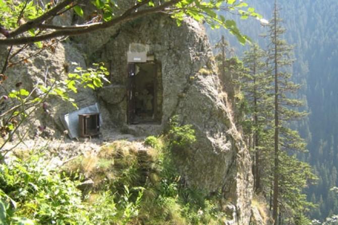 Chilia Părintelui Arsenie Boca din Munții Făgăraș