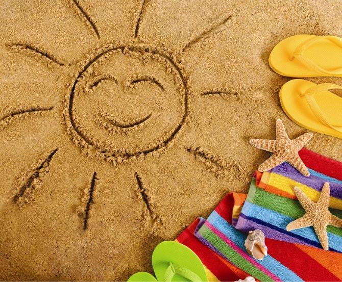 PLAJĂ- Protecție solară