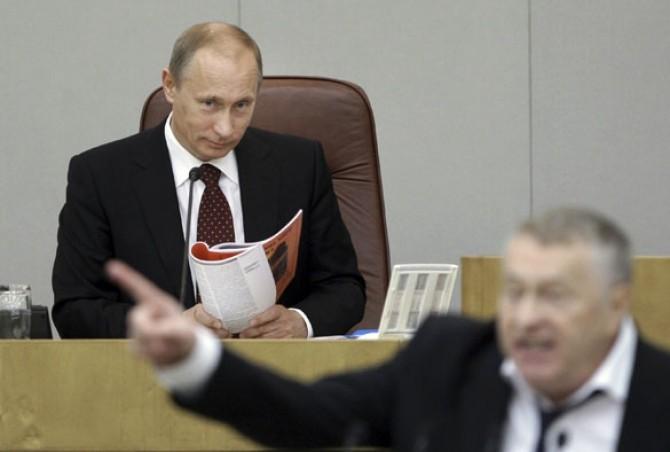 Putin și Jirinovski