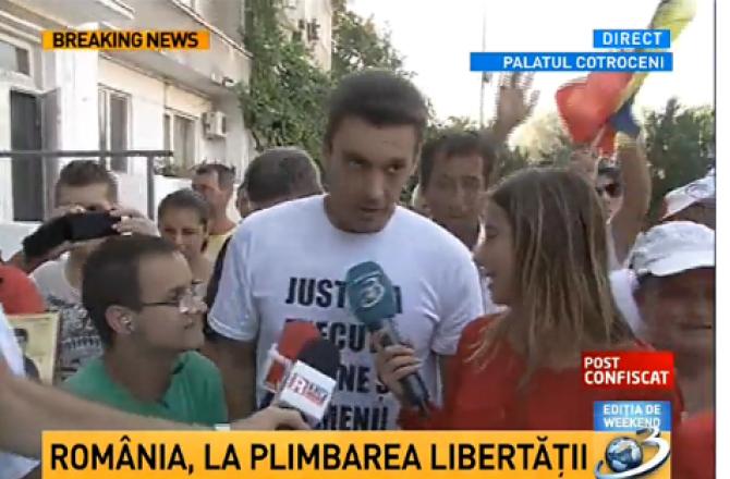 Mircea Badea plimbarea libertatii