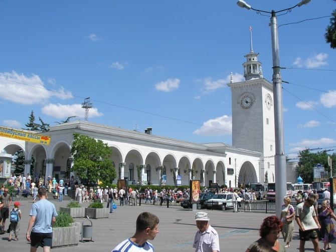 Gara din Simferopol