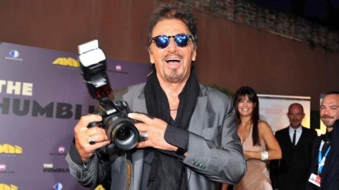 Al Pacino, fotograf amator la Veneția