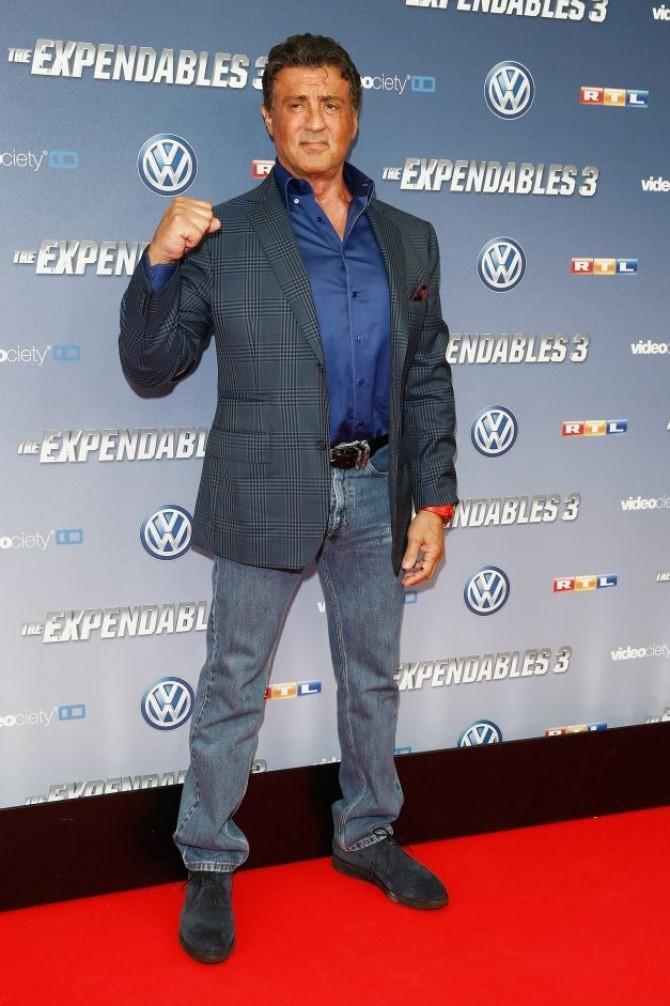 Sylvester Stallone (68 de ani)