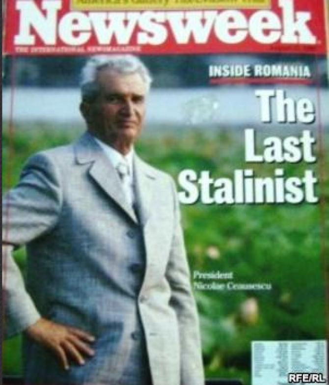 Copertă NewsWeek Magazine